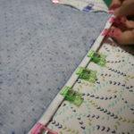 キルト小物の内側の縫い代をきれいに処理する方法